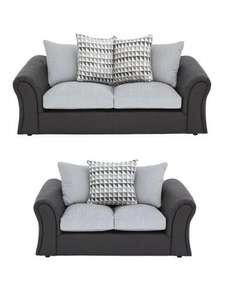 Linear 3 seater + 2 seater Sofa set (Was £1,249) Now £573.99 delivered at Very
