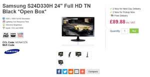 "Samsung S24D330H 24"" Full HD TN Black *Open Box* £89.88 delivered @ CCL Online"