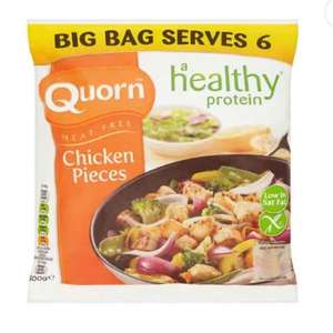 Quorn Chicken Style Pieces 500g offer, save £1.29. Was £2.79 now £1.50 at Tesco