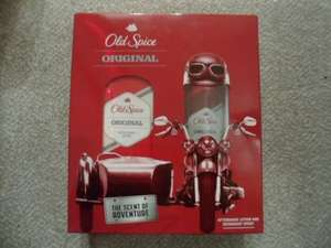 Old Spice Original Aftershave And Deodorant Gift Set Was £10 Now £2.50 @ Tesco Instore.
