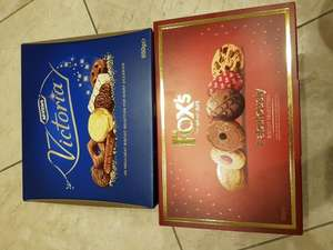 Fox's Fabulous biscuit selection 600g/ McVities Victoria biscuit selection 650g £1.50 @ Sainsbury's