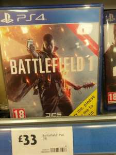Battlefield 1 £33  @ morrisons instore