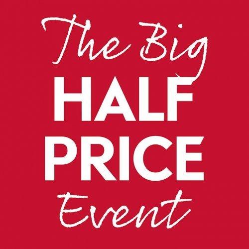 The Big Half Price Event @ Waitrose