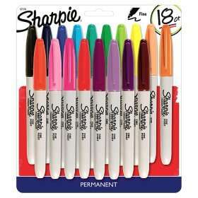 Sharpie Fine Permanent Markers 18 Pack £5 WAS £15 ASDA Instore And Online