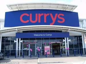 Currys/TCB 9.9% cash back on all sales over £249