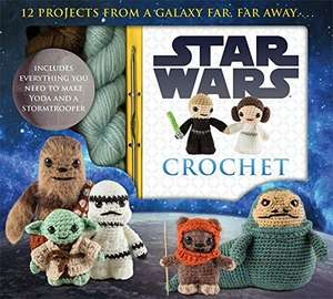 Star Wars Crochet Pack £10.00 delivered free @ Amazon