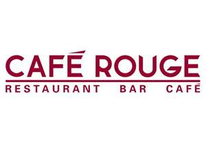 £20 back on £50 spend on Cafe Rouge via American Express