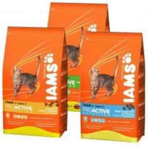 Iams Cat Food 3Kg £7.25 instore @ Waitrose