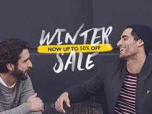 Lyle and Scott Sale with up to 50% discount (Extra 10% code)