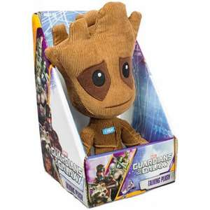 Guardians of the Galaxy Talking Plush Figure Groot 23 cm £12.99 delivered @ Zavvi