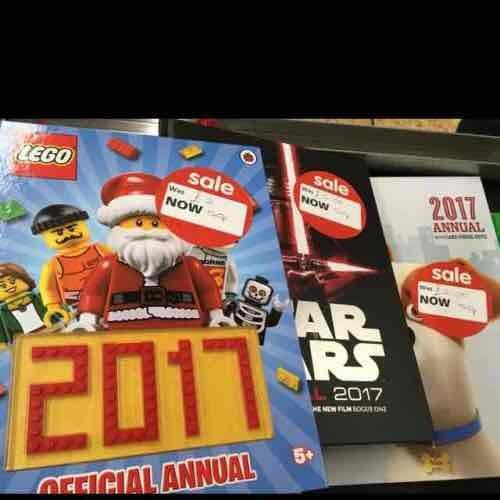 Various annuals at Asda Totton - 50p