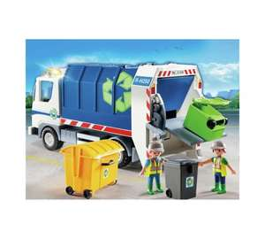 Playmobil 4129 recycling truck with flashing lights Was £16.99 now £8.49, Childrens playground 5568 was £19.99 now £9.99 Half price @ Argos