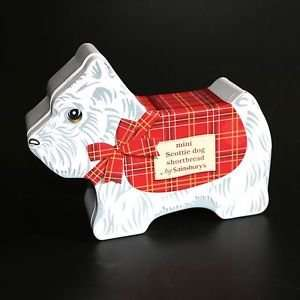 Scottie Dog Shaped Shortbread in a Musical Tin  £1.08  from Whitley Bay Sainsbury's
