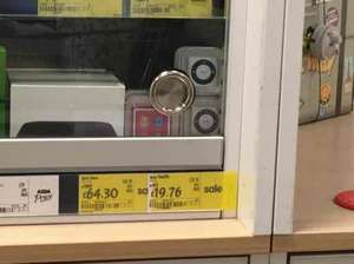 IPod Nano 16GB at Asda Totton - £64.30
