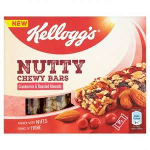 kellogg's nutty bars 4pack, 3 for 90p @ companyshop