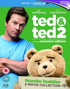 Ted/Ted 2 Blu Ray Box Set £5.75 @ Zoom