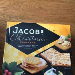 Jacobs Cream Crackers 450g box 50p @ Makro