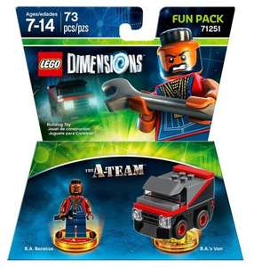 Lego Dimensions team and level packs 2 for £30 @ Asda
