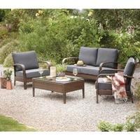 Jakarta 4 Piece Conversation Sofa Set £159.45 @ Asda