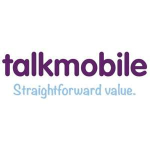 TalkMobile Large 30 day SIM 1500 minutes 5000 texts 4GB data was 2GB £10.00 a month
