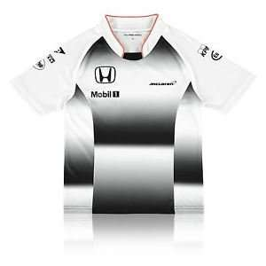 McLaren Honda Childrens Kids Official 2016 Team T Shirt Tee Top - Black £5 @ Mclaren store ebay
