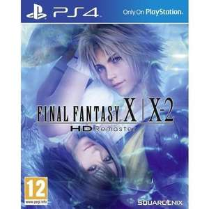 Final Fantasy X/X-2 HD Remaster (PS4) £13.95 Delivered @ TheGameCollection via eBay (Import)