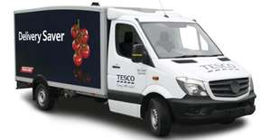 Tesco Delivery Saver - 50p in Clubcard Points = £1 discount on delivery (New and Existing Customers)