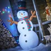 180cm Light Up Inflatable Snowman was £50.00 now £12.50 instore @ Wilko