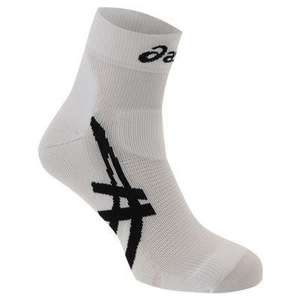 Asics Cumulus unisex socks £8.99 (including £5 instore voucher with c&c) @ Sweatshop