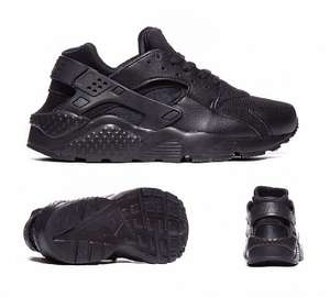 Nike Huarache Trainers Black, Size 3-6 In Stock! Foot Asylum £44.99