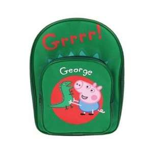 George Pig Dinosaur Backpack £1.95 (Add On Item) @ Amazon (£20 Spend)