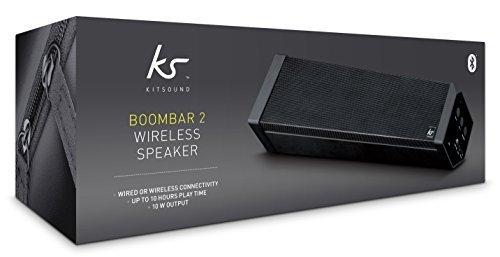 Kitsound DAB FM Bluetooth Radio & Kitsound Boombar 2 Wireless Speaker £20 instore @ Asda