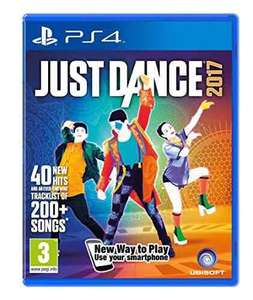 Just Dance 2017 PS4 £19.99 Prime / £20 (with 1p item) non-Prime @Amazon