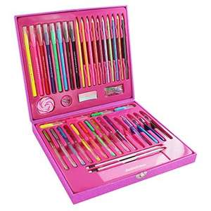 Scribblicious 56 Piece Stationery Set - now £7.50 with code + Possible 13.2% cashback @ The Works (Free C&C)
