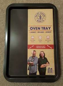 Hairy Bikers Large Non Stick Oven Tray (43cm x 29cm) only £1.99 at Home Bargains.