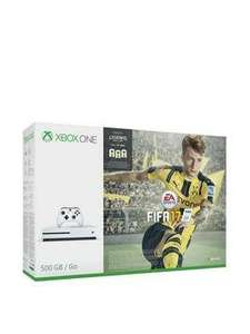 Microsoft Xbox One S 500GB White with Fifa 17 £219.99 @ Very (Poss £197.99 with new customer discount)