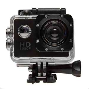 Top Tech HD Outdoor Action Cam (Black) - 1080p £19.99 @ Euro Car Parts