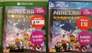 Minecraft Story Mode PS4/Xbox One £10 Instore @ Game