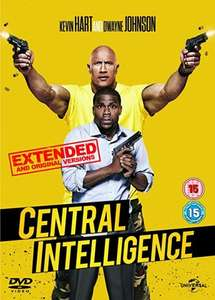 Central Intelligence (DVD + Digital Download) £3.00 @ Amazon (Prime or add £1.99)