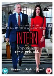 The Intern DVD (Robert De Niro, Anne Hathaway) £3 with Free Delivery @ Tesco Direct or Amazon (free delivery for Prime users or £1.49 delivery non-prime or orders over £20)