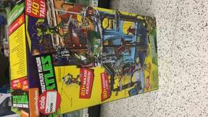 Teenage mutant ninja turtle secret sewer lair playset RRP £59.99 instore at Asda - £22.50