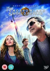 Tomorrowland A World Beyond (Disney) DVD £3 with Free Delivery @ Tesco Direct or DVD £3, Blu-Ray £4.99 @ Amazon (free prime delivery or for non-prime on orders over £20 or £1.49 delivery non-prime)