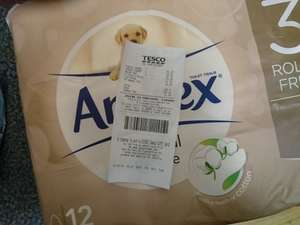 Andrex toilet roll (natural pebble) 12 pack 2.23 reduced to clear at Tesco