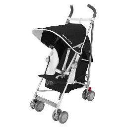 Maclaren Globetrotter Stroller - Black/White £75 @ Mothercare