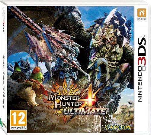 Monster hunter 4 (3DS) £17.46 (Prime) £19.45 (Non Prime) Delivered @ Amazon (Lightning Deal)