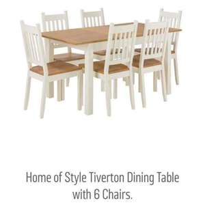 Argos dining table set £164.99