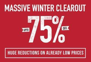 saltrock winter sale upto 75% off + 6.6% cash back via Quidco