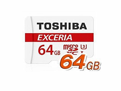 Toshiba Exceria 64GB Micro SD Memory Card U3 - 90 MB/s - 4K £13.99 [oos but orderable] @ Amazon