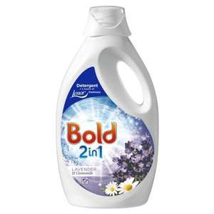 Bold 2 in 1 Detergent Lavender & Camomile 60 Washes 3L £5.99 @ B&M