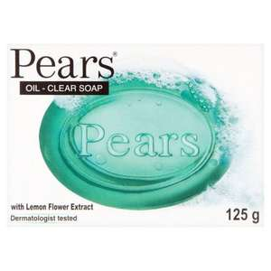 Pears Oil Clear Soap with Lemon Flower Extract. 125g 47p was 70p @ Morrisons